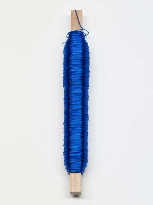 Wikkeldraad blauw
