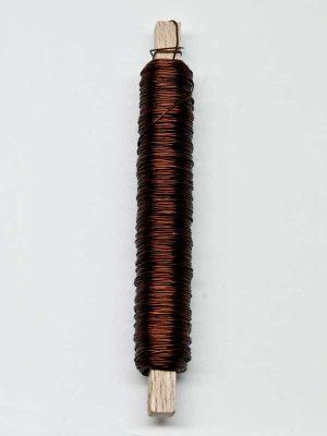 Wikkeldraad bruin