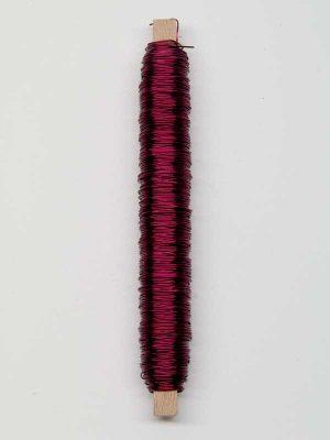 bloemschik-materialen-wikkeldraad-donkerroze
