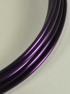 2mm aluminiumdraad violet