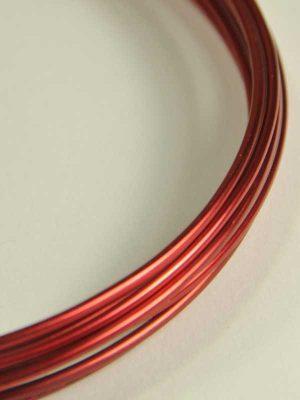 bloemschikmaterialen-aluminiumdraad-rood