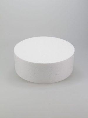 vormen van piepschuim een taart 20 cm