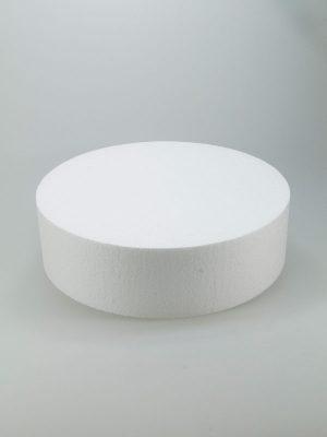 vormen van piepschuim een taart 25 cm