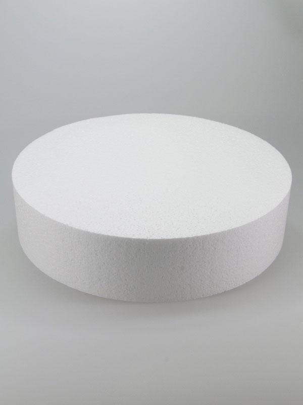 vormen van piepschuim een taart 30 cm