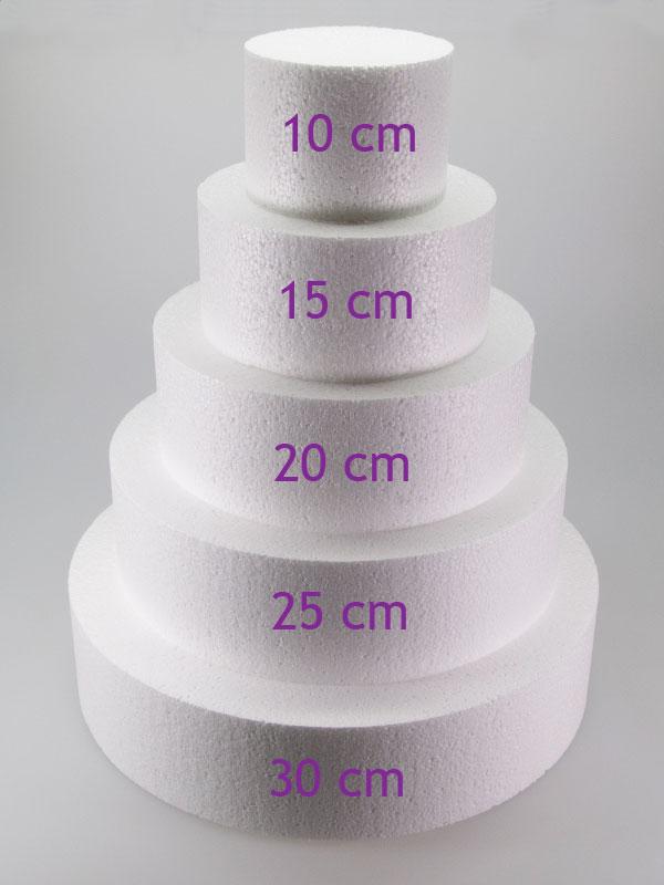 styropor taart Piepschuim taart 15 cm styropor taart