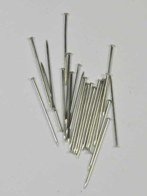 materiaal voor hobby of bloemschikken steek-naald vernikkeld