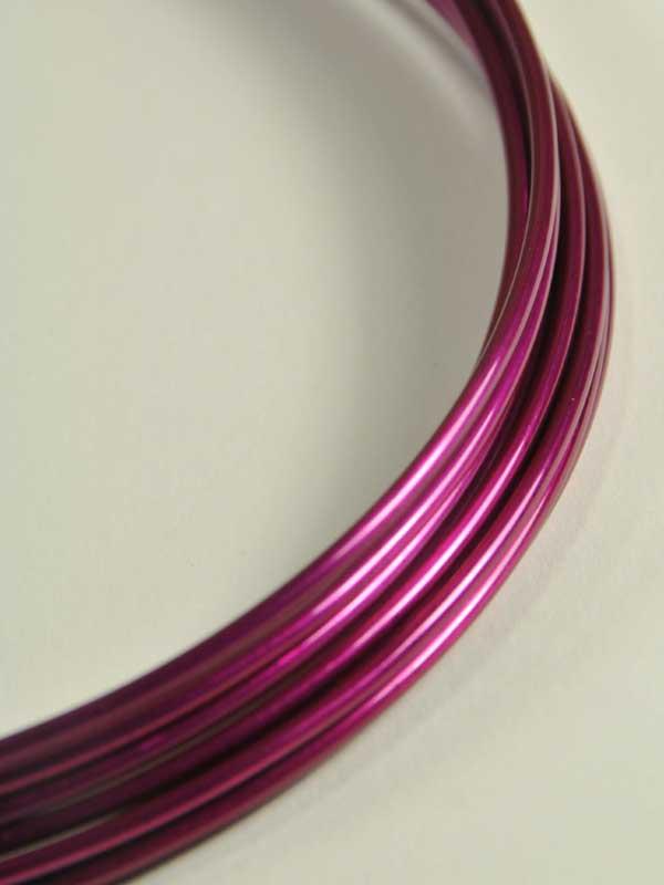 materiaal-voor-bloemschikken-aluminiumdraad-donker-roze