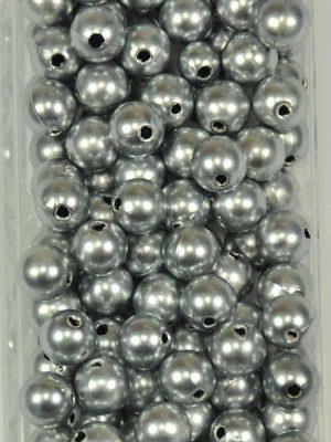 materiaal-voor-bloemschikken-rijgparels-zilver-mat-10mm