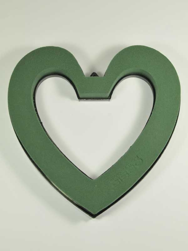 Steekschuim hart, open, 22 cm, oasis ( oase )