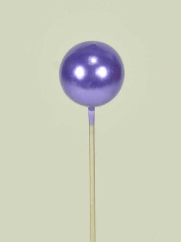 decoratiespeld paars 9 mm