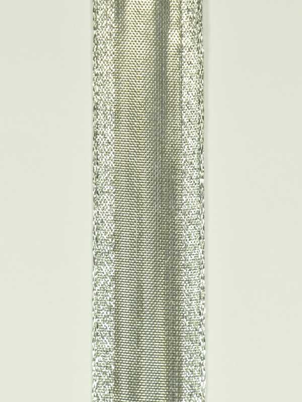 bloemschikmateriaal-kerstlint-zilver