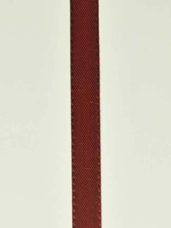 Decoratielint donkerrood 10 mm