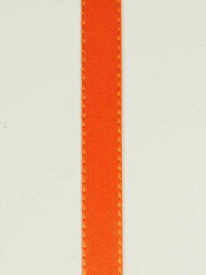 Decoratielint oranje 10 mm
