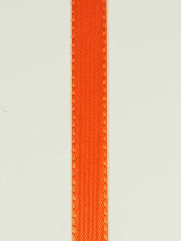 Decoratielint oranje 10 mm