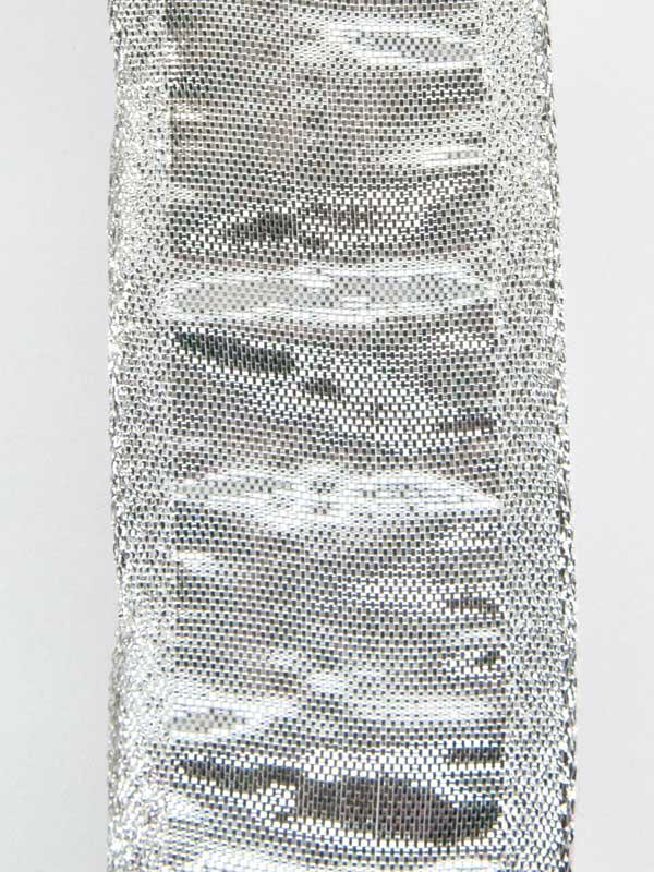 lint zilver met bewerkte rand