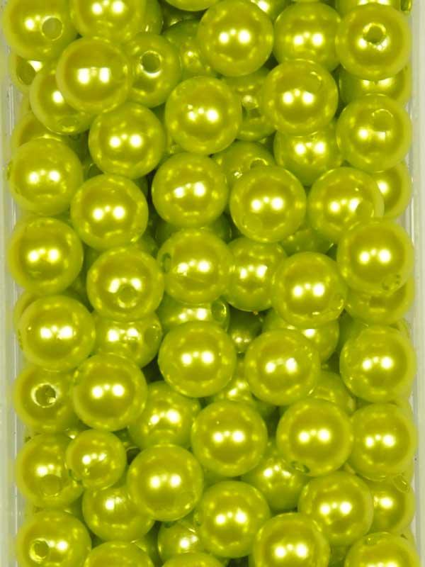 rijgparel-limoen-10mm