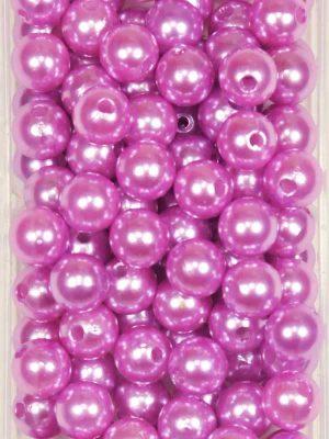 rijgparels oud roze 10 mm