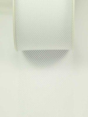 materiaal-voor-bloemschikken-tule wit