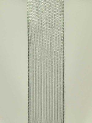 materiaal-voor-bloemschikken-lint-zilver-organza