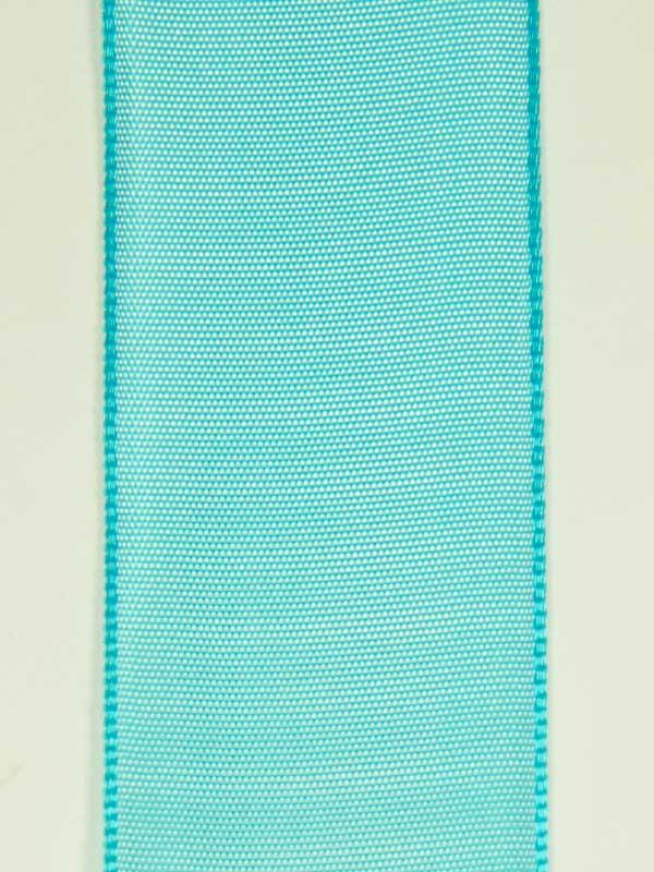 lint-turquoise-40 mm-cadeaulint-bloemschikmateriaal