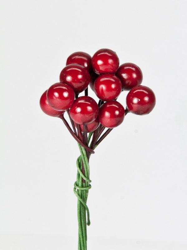 rode besjes voor decoratie