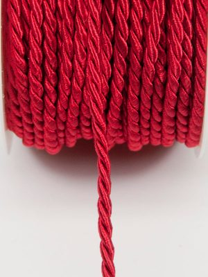 decoratiekoord rood 4 mm