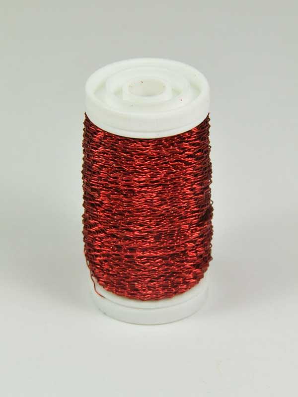 effectdraad-rood-decoratiemateriaal-op klos