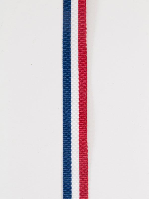 lint rood wit blauw 10 mm breed