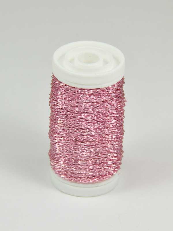 effectdraad-roze-decoratiemateriaal-op klos