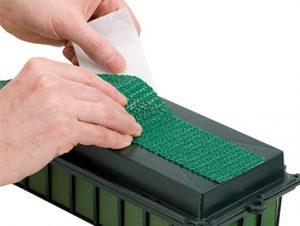 Voorbeeld van het gebruik van de anti-slip tape (Foto beschikbaar gesteld door Oasis)