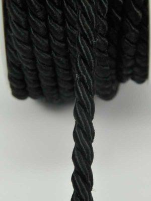 Decoratie-koord zwart