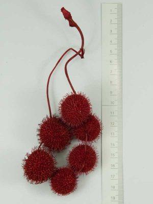 plataanballetjes rood