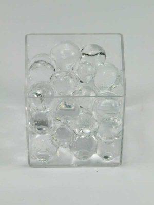 waterparels, opgezwollen