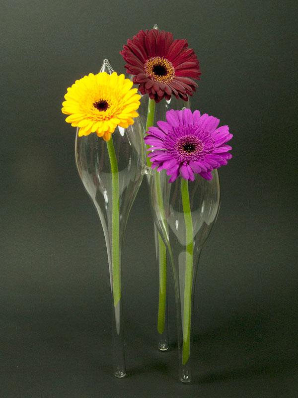 Decoratieve vaas met bloemen