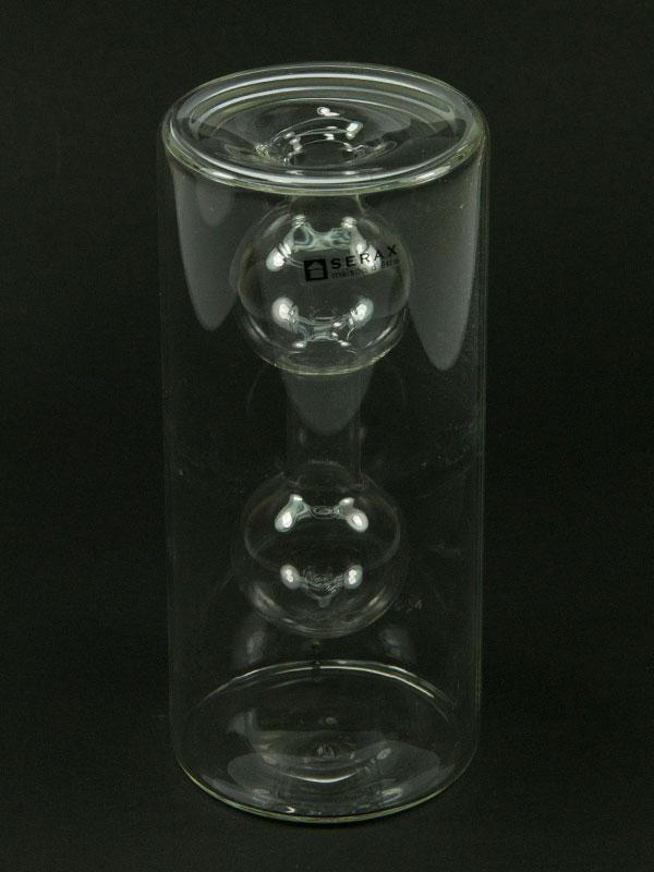 double vase leeg