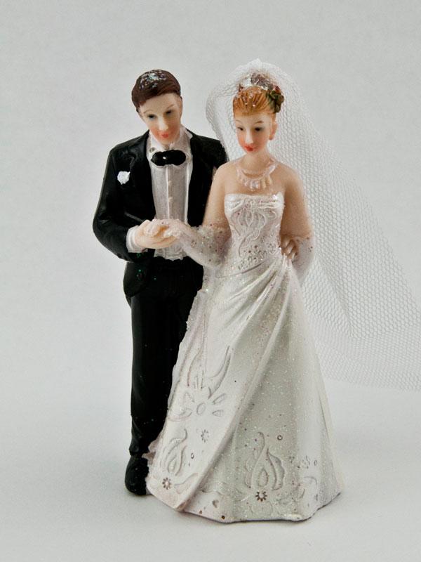 bruidspaar taarttopping