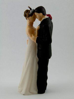 bruidspaar taarttopping kaars