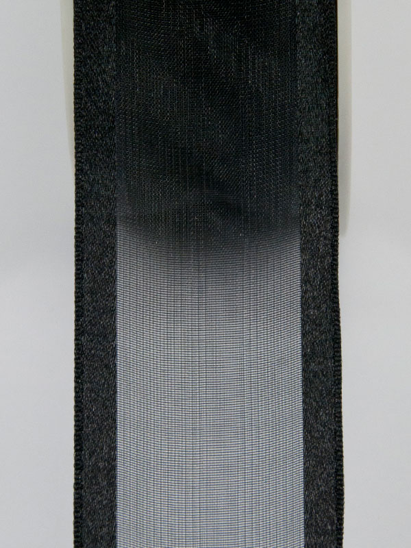 Organza lint met satijn 38 mm breed