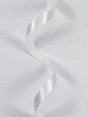 Satijn-lint kleur wit, breedte 10mm