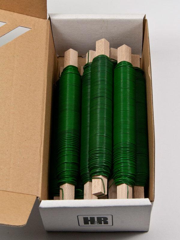 binddraad groen, doos met 10 stuks