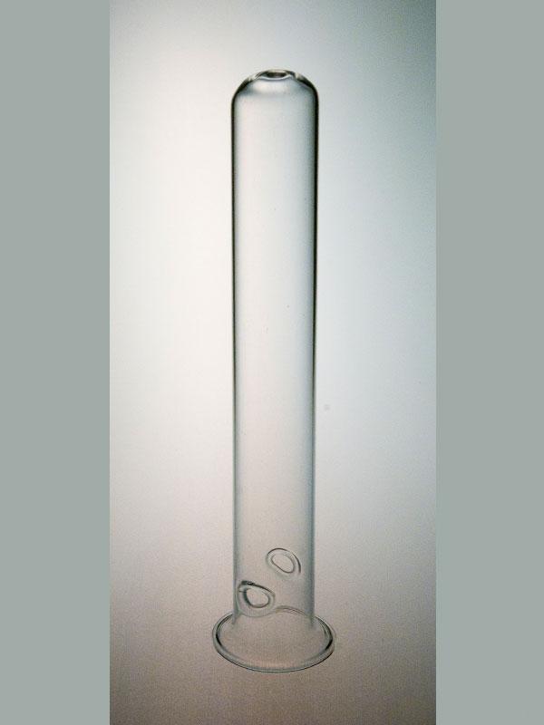 Reageerbuis 15cm lang 20 mm doorsnede met ophanggaatjes