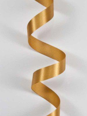 Satijn-lint kleur goud, breedte 15mm