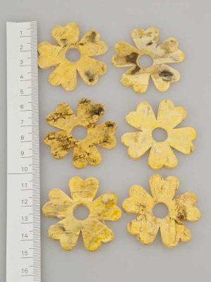 Berkenschors bloem geel - 6 stuks