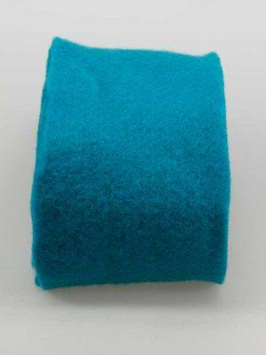 Vilt 15 cm breed turquoise