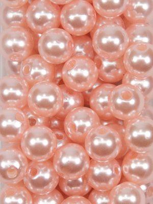 rijgkraal licht roze 12 mm