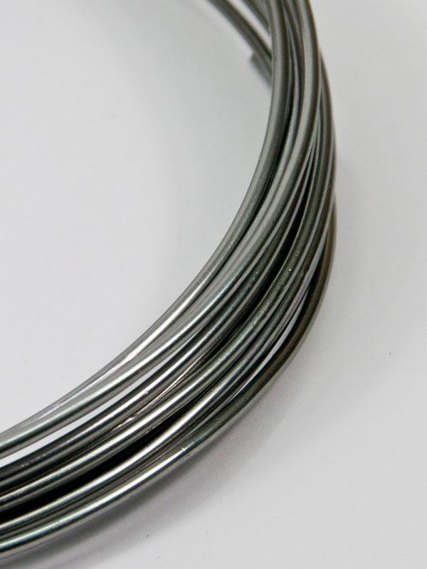 aluminiumdraad antraciet