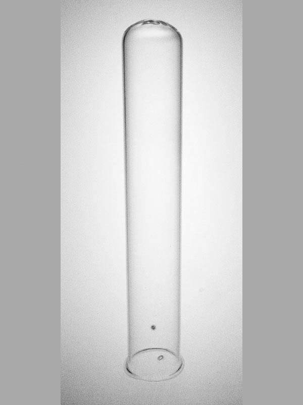 Breed reageerbuisje 17 cm met gaatjes
