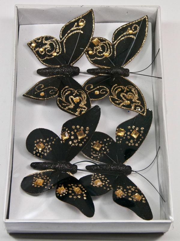 doos zwarte vlinders, type 1 en type 2