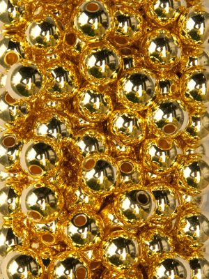 rijgparels metallic goud