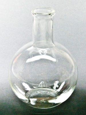 Glazen bolvaasje staand - per stuk (1485)-3326
